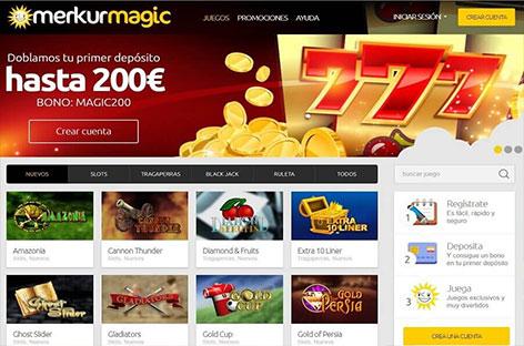 merkurmagic casino bono bienvenida