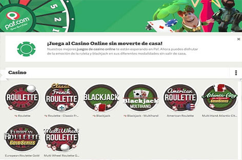 paf casino ruleta