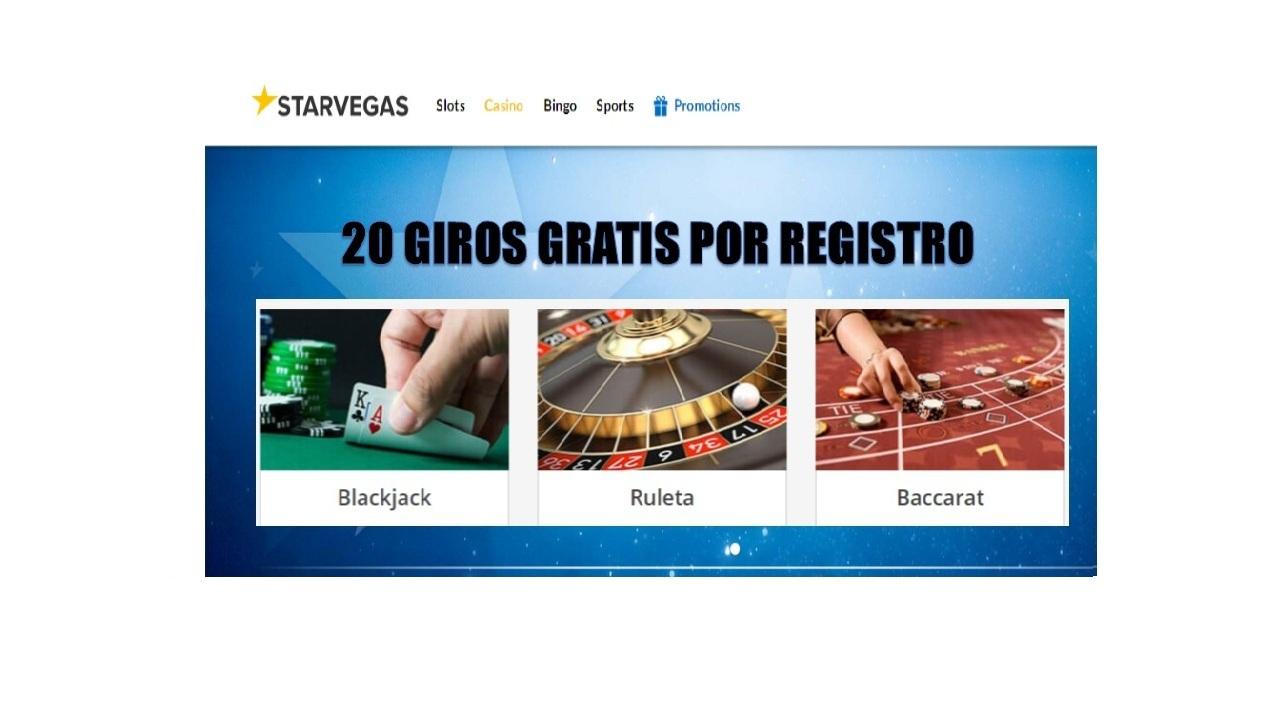 Casino Starvegas 20 giros gratis